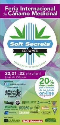 Feria Valencia acoge este fin de semana GrowMed, la mayor feria del cannabis terapéutico celebrada en España