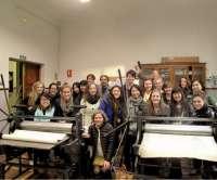 El Centro de la Universidad de Washington en León recibe al primer grupo de estudiantes de enseñanzas artísticas