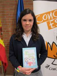 Una alumna de 2º de ESO gana el concurso sobre el Rey con un cuento en el que le presenta como un campesino salvador
