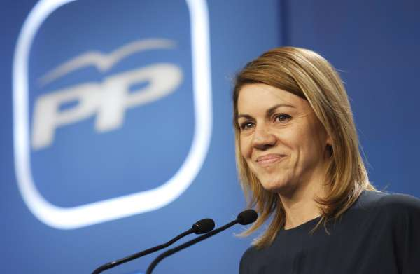 Cospedal ofrecerá a Rajoy apoyo para cumplir el déficit español y le pedirá un PHN, infraestructuras y apoyo al campo