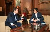 El alcalde de Toledo analiza con su homólogo en Cuenca la actual situación económica de los ayuntamientos