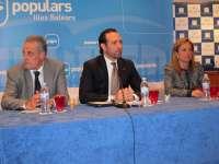 El Congreso del PP de Baleares será los próximos días 1 y 2 de junio