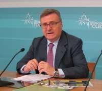García-Tizón dice que la Diputación de Toledo tiene una plantilla