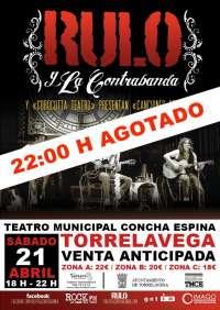 'Rulo y la Contrabanda' actúa el sábado en el Teatro Concha Espina