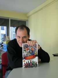 Iñigo Aguirre publica el segundo número de 'Ibéroes', el primer cómic español de superhéroes del siglo XXI