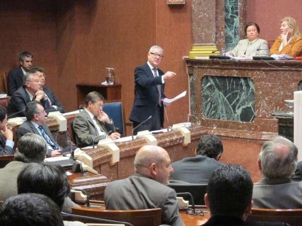 Valcárcel comparece este miércoles en la Asamblea Regional para hablar de recortes y del nuevo decreto ley para Lorca