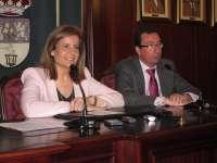Báñez anuncia la licitación del contrato para construir una oficina integral de la Seguridad Social en Lepe
