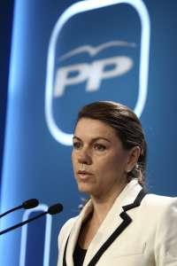 Cospedal dice, tras dimitir el alcalde de Santiago, que si aparecen datos nuevos se le abrirá expediente informativo