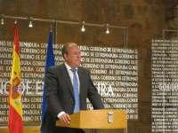 El lehendakari Patxi López recibe este martes en Ajuria Enea al presidente de Extremadura