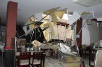 El Ayuntamiento de Cáceres amplía el precinto a una vivienda más tras el derrumbe del restaurante Wok