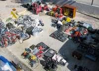 Detienen a 3 personas por robar maquinaria pesada y electrodomésticos en Santomera por valor de 150.000 euros