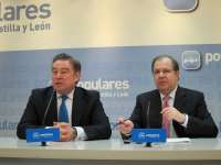 Barreiro pone a CyL como ejemplo de gestión en servicios básicos y Herrera reitera su compromiso con el autonomismo real