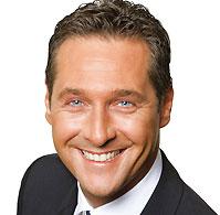 <p>Heinz- Christian Strache</p>