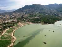 Los pantanos de la cuenca del Segura pierden 6 hectómetros cúbicos en la última semana