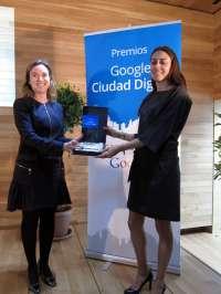 Logroño recibe el Premio Google 'Ciudad Digital' por la implicación de Ayuntamiento y pymes con las TICs