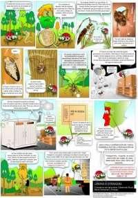 La Consejería de Agricultura elabora un cómic explicativo sobre la enfermedad del nematodo de la madera del pino