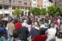 Unas 200 personas se concentran en Valencia en defensa de un periodismo