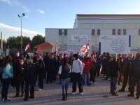La totalidad de la plantilla de Albatros en Alcázar (Ciudad Real) secunda la jornada de huelga contra el ERE, según CCOO