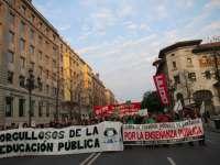 La Plataforma en Defensa de la Educación Pública llama a manifestarse este sábado contra los