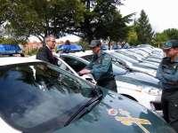 Tres detenidos por robos en la provincia de Valladolid en los que forzaban puertas con tapas de alcantarilla