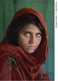 Girona acogerá una exposición con las mejores fotografías de Steve McCurry