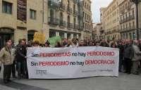 Periodistas de Salamanca defienden la libertad de prensa como