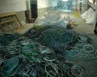 Detenidas 13 personas en Mallorca por el robo de metales y su venta a centros de gestión de residuos