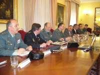 Más de 2.600 guardias civiles, un 5% menos que en 2011, ejercerán más de 40.000 horas de servicio en el Plan Romero