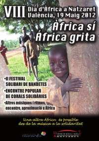 Nazaret celebra este sábado el VIII Día de África con conciertos, charlas, pasacalles y una paella solidaria