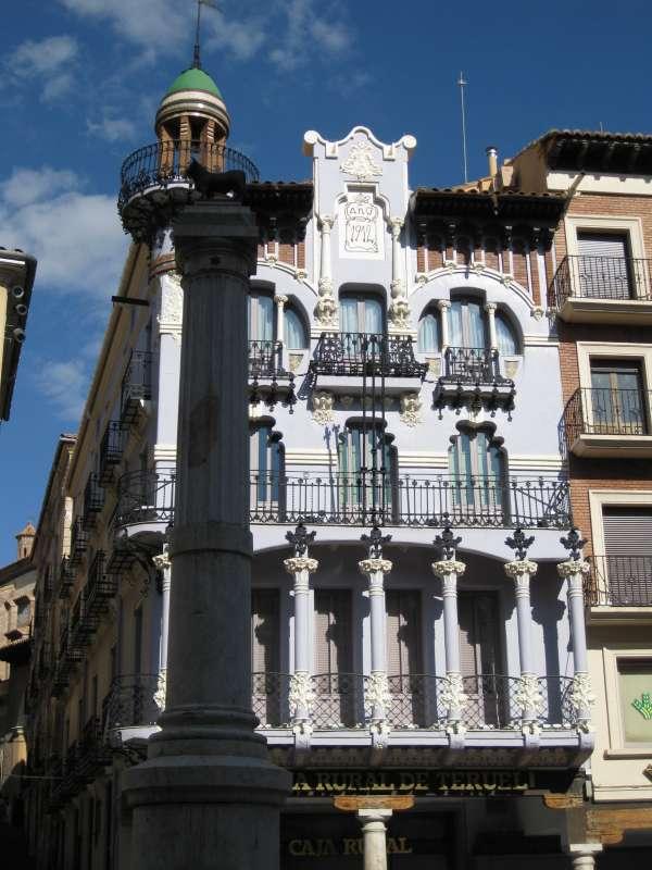La capital turolense promocionará el Modernismo a través de una ruta europea