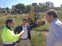 El Ayuntamiento desarrollo un dispositivo de prevención de incendios en las laderas del Conquero y Parque Moret