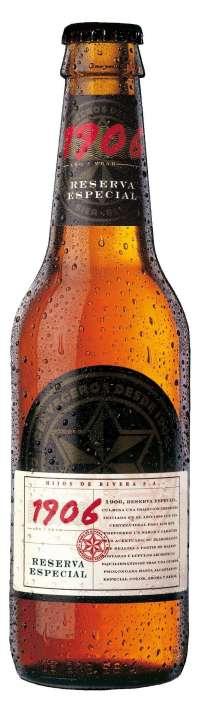La cerveza 1906 Reserva Especial recibe el Premio al Sabor Superior que otorga un instituto de calidad de Bruselas