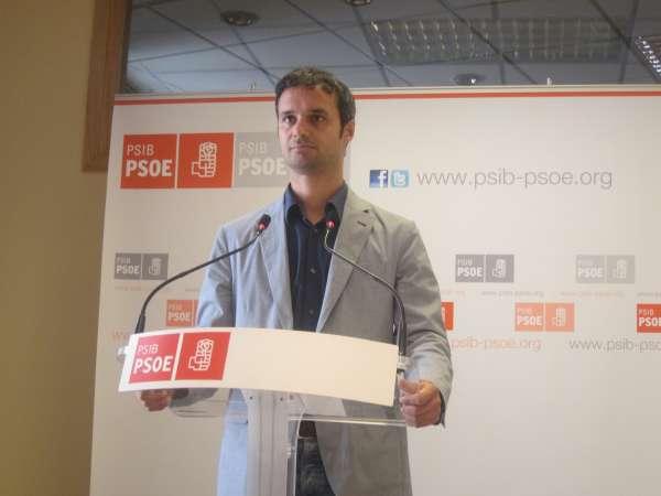 PSIB critica al PP por no apoyar ninguna de sus enmiendas a los PGE y le acusa de no defender los intereses de Baleares