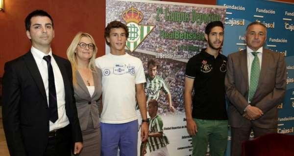 La Fundación Cajasol colabora con el Real Betis en el II Campus Deportivo, que se celebra en Armilla (Granada) en julio