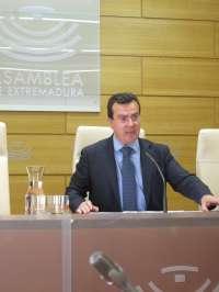 Cantero (PP) resalta que Extremadura es la