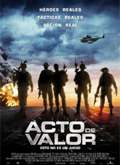 Acto de valor - Cartel