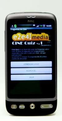 Una productora vallisoletana desarrolla un juego gratuito para cinéfilos a través de móviles 'Android'