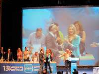 El 13 Congreso del PP de Valladolid se convierte en un homenaje al malogrado Santos Villanueva