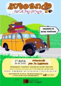La Comarca del Bajo Aragón diseña el programa de rutas turísticas