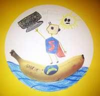 Plátano de Canarias llevará a sus puntos de venta nacionales las sonrisas dibujadas por los niños canarios