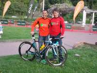 Dos triatletas de Biescas (Huesca) del Club Mayencos Triatlon participan en la prueba Ironman de Niza este domingo