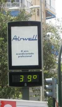 Veinte provincias, entre ellas Murcia, permanecerán este domingo en alerta por altas temperaturas