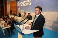 Francisco Vázquez, reelegido presidente del PP en Segovia con el 96% de los votos, encara su cuarta legislatura