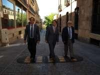 Salamanca inicia su proceso de peatonalización del casco histórico