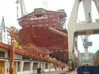 La Naval botará a principios de agosto su buque 'fall pipe' para el armador Jan De Nul