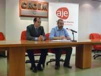 AJE Región de Murcia gestionará líneas de financiación para emprendedores de hasta 75.000 euros sin aval