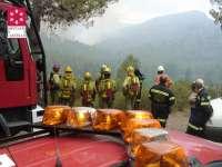 La Diputación de Castellón defiende la gestión del Consorcio de Bomberos en el incendio del Alto Palancia