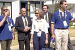 El Príncipe Felipe, la Reina Sofía y la Infanta Cristina