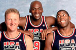 Jordan, Magic y Bird