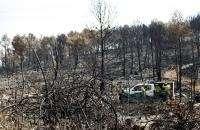 Los fuegos de Cortes y Andilla causan daños en servicios básicos por valor de 4,3 millones